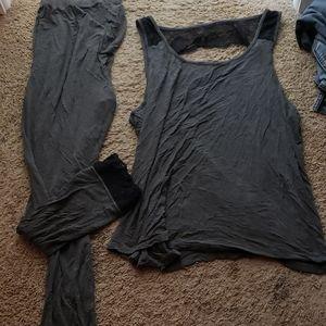 Womens 2x adore me pajama set